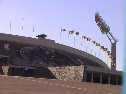 Estadio de fútbol CU UNAM