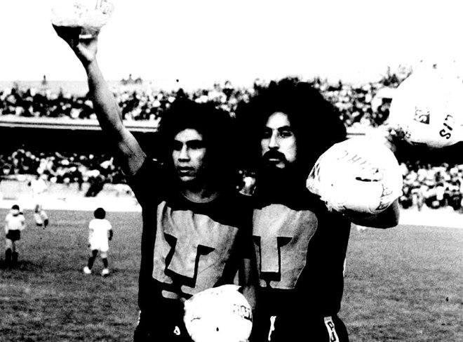 Hugo Sánchez con los Pumas de la UNAM