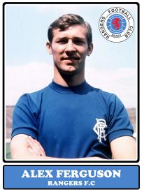 Alex Ferguson Rangers Glasgow