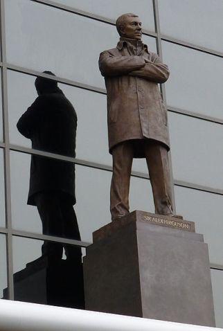 Estatua de Alex Ferguson en Old Trafford