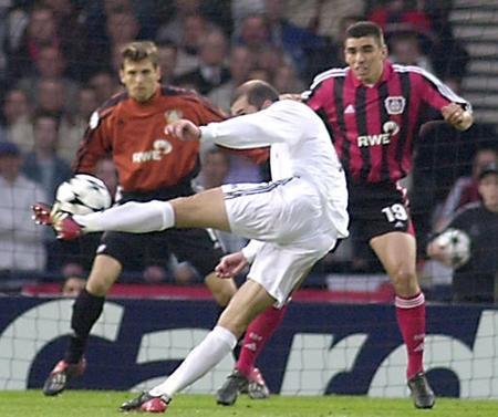 Zizou vs Leverkusen