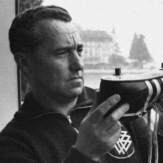 Adi Dassler, fundador de Adidas