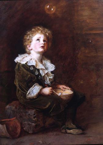 A Child's World, por Sir John Everett Millais