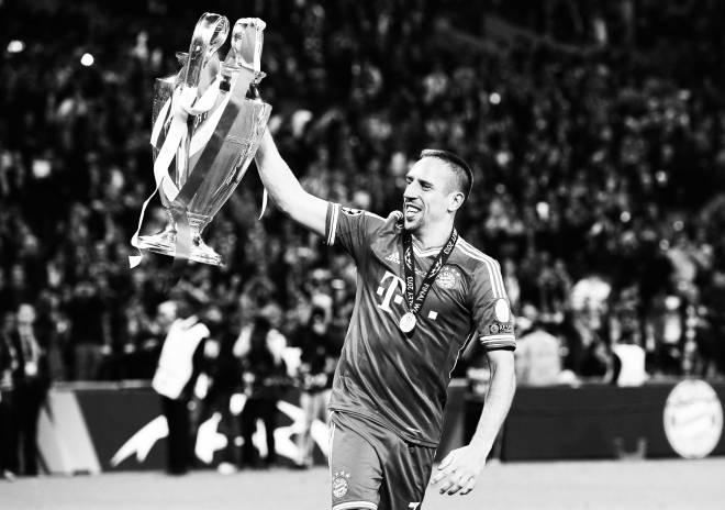 Ribéry Champions League